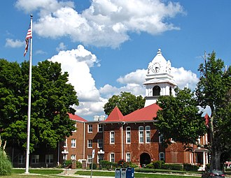 Wartburg, Tennessee - Morgan County Courthouse in Wartburg