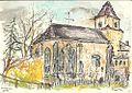 Moritzbrunn im Landkreis Eichstätt, Zeichnung von Siegfried Schieweck-Mauk, Eichstätt.jpg