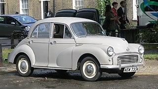 Morris Minor car model