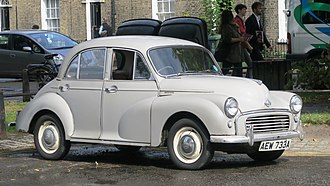Morris Minor - Morris Minor 1000 4-door saloon