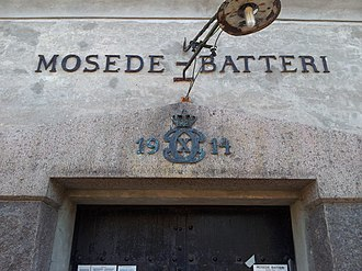 Mosede Fort - Entrance for the Casemate