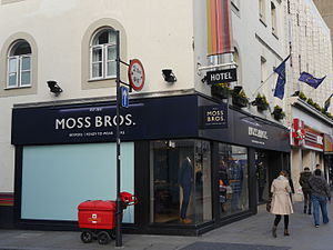 Moss Bros Group - Moss Bros, King Street, Hammersmith, London.JPG