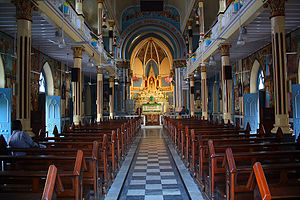 Basilica of Our Lady of the Mount, Bandra -  Inner View of The Church
