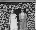 Mr. and Mrs.Tudor Circo on their front porch. Raven Red Ash Coal Company, No. 2 Mine, Raven, Tazewell County, Virginia. - NARA - 541112.jpg