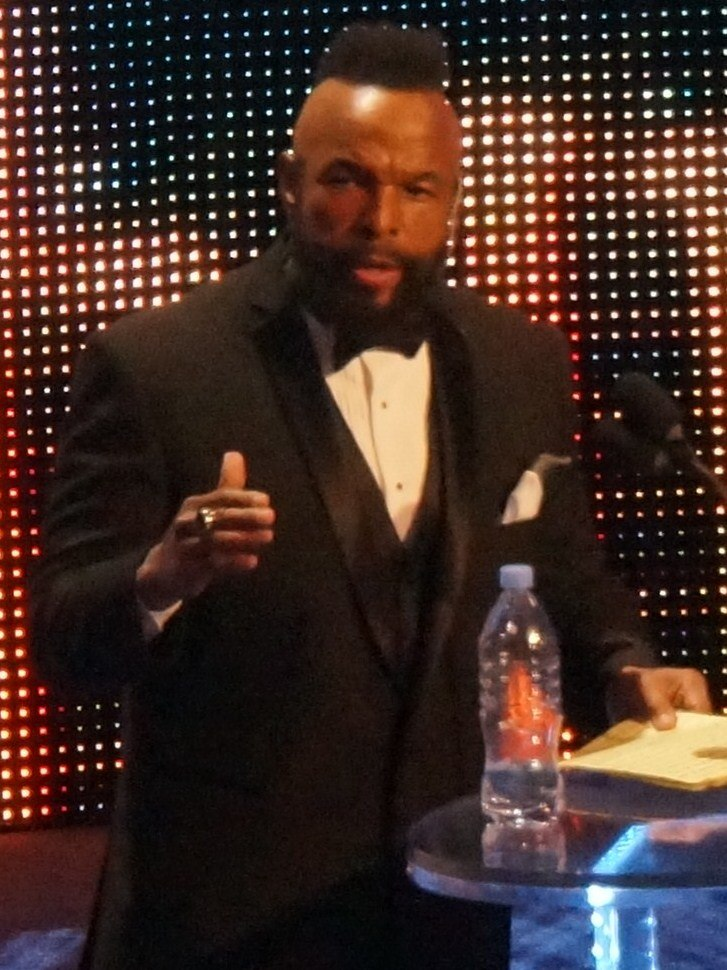 Mr T WWE Hall of Fame 2014 (cropped)