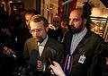 Msc 2007-Saturday, 11.00 - 13.00 Uhr-Zwez003 Impressionen-Redner Larijani gibt PK.jpg