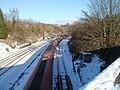 Murco train passes through Gaer Junction, Newport - geograph.org.uk - 2206962.jpg
