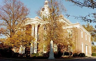 Rutherford County Courthouse (Tennessee) - Image: Murfreesboro