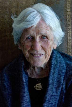 Centenarian -  Socialist Muriel Duckworth, at age 100