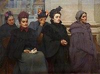 Musée Calvet Leydet Victor Avant la messe 1898.jpg