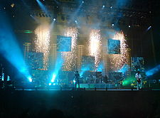 Muse playing Starlight at Leeds Festival 2006