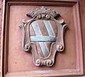 Museo di fucecchio, stemma corsini su porta.JPG
