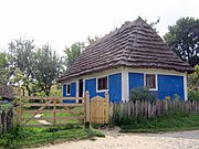 Museum of Folk Architecture and Ethnography in Pyrohiv - old house - 2450-1.jpg