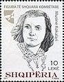 Musine Kokalari 2017 stamp of Albania.jpg