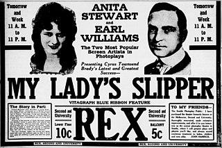 <i>My Ladys Slipper</i> 1916 film by Ralph Ince