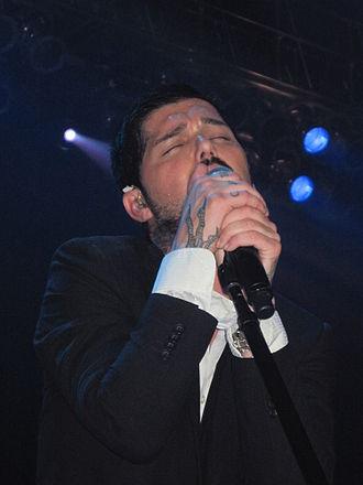 J.D. Fortune - Fortune at an INXS performance at Mystic Lake Casino, Minneapolis, Minnesota, July 28, 2011