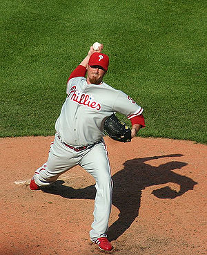 Brett Myers - Myers pitching for the Phillies