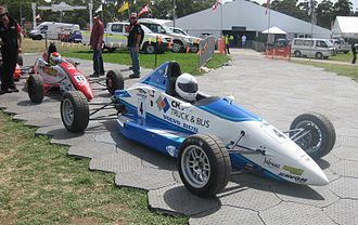Australian Formula Ford Championship - Garry Jacobson (Mygale SJ08a) at the opening round of the 2011 Championship