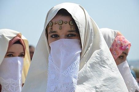 Woman in Haïk
