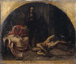 Alexis-Joseph Mazerolle - Nero and Locusta Experimenting with Poison on a Slave