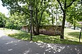 Nürnberg, Stadtbefestigung, Frauentormauer, Innere Grabenmauer am Spittlertor 20170616 001.jpg