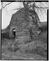 NORTHEAST CORNER - Buckhorn Iron Furnace, Buckhorn Hollow Road, Pedro, Lawrence County, OH HAER OHIO,44-PEDRO.V,1-3.tif