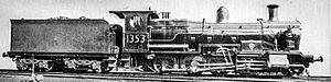 New South Wales D55 class locomotive - Class D55 Locomotive (former K.1353 Class)