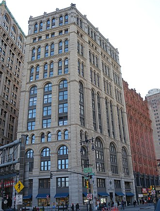 New York Times Building (41 Park Row) - Image: NY Times 41 Park Row jeh