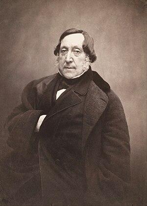 Gioacchino Rossini, by Nadar