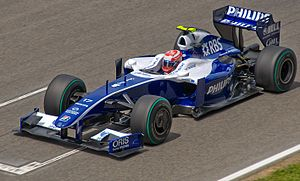 Williams FW31 - Image: Nakajima 2009 Spain