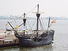 Replica of Ferdinand Magellan's ship