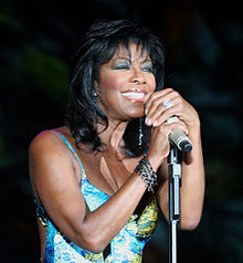 Natalie Cole performing in 2005