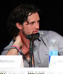Nathan Parsons, San Diego Comic Con, julio 2014.JPG