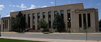 Natrona County, Wyoming - Image: Natrona County Courthouse