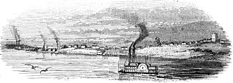 History of Nauvoo, Illinois - Nauvoo in 1865