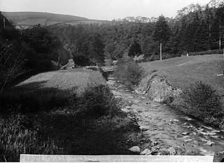 Near the natural arch in the rocks, Llanbryn-mair