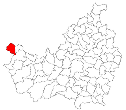Location of Comuna Negreni