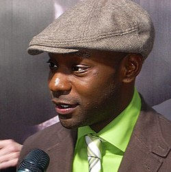 Nelsan Ellis vid premiären av True Blood i Hollywood, 2009.