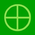 Neopaganism SYMBOL lime green.png