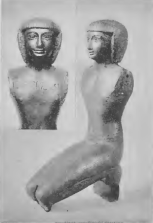 Smendes II - Statuette depicting a High Priest of Amun Smendes, possibly Smendes II