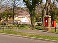 New Milton, postbox No. BH25 88, Barton Court Avenue - geograph.org.uk - 1249059.jpg