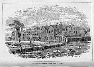 New Orphan Houses, Ashley Down, Bristol - The second Orphan House at Ashley Down