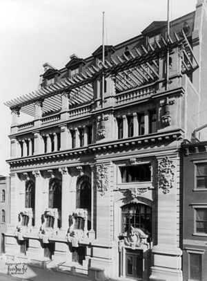 New York Yacht Club - New York Yacht Club House, 1901