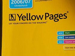 det gule sider