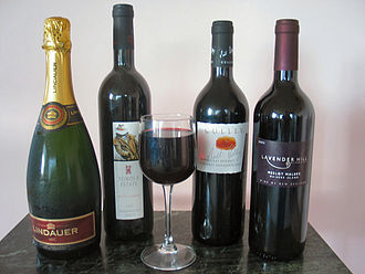 New Zealand wine - A selection of New Zealand wines