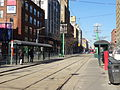 New streetcar 4404 heading south on Spadina, near King, 2014 12 20 (14) (16072086762).jpg