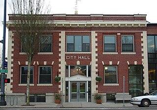 Newberg, Oregon City in Oregon, United States