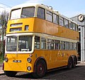 Newcastle Corporation bus 501 (LTN 501), Beamish Museum, 15 April 2012 (cropped).jpg