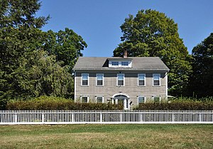 Sanford–Curtis–Thurber House - Image: Newtown CT Thurber House