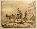Nicolaes Pietersz. Berchem - Herder op een ezel met naast hem een herderin.jpg
